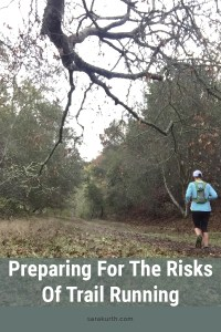 Risks of trail running