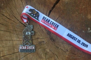 Bear Creek Trail Half Marathon Race Recap