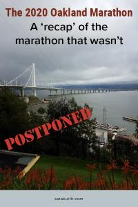 Oakland Marathon Recap of the Race That Wasn't