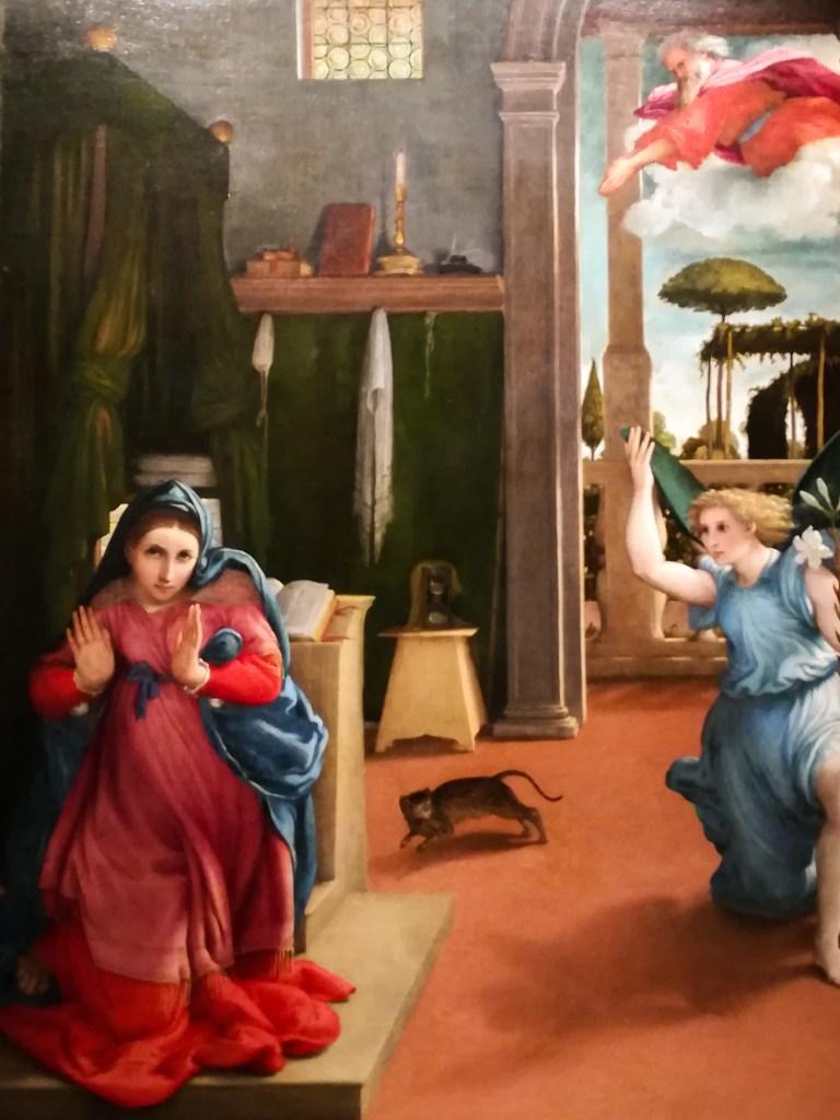 L'Annunciazione Lorenzo Lotto