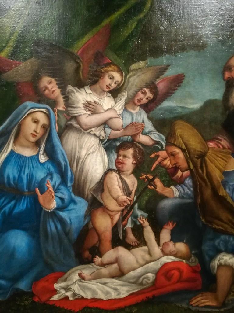 L'Adorazione del Bambino | Lorenzo Lotto