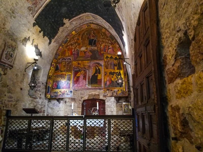Porziuncola Assisi interno