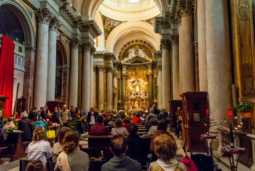 San Salvatore in Lauro Roma
