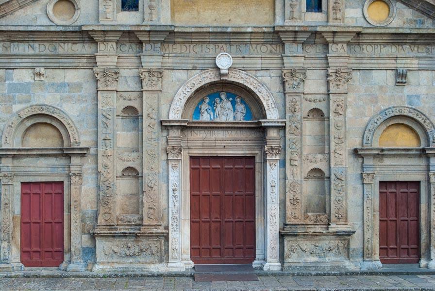 Portale Cattedrale Santa Cristina