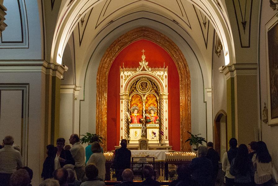 Santi Medici al Santuario di San Cosimo alla Macchia