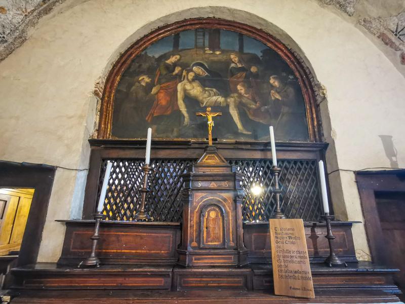 Chiesa dedicata a San Francesco Greccio
