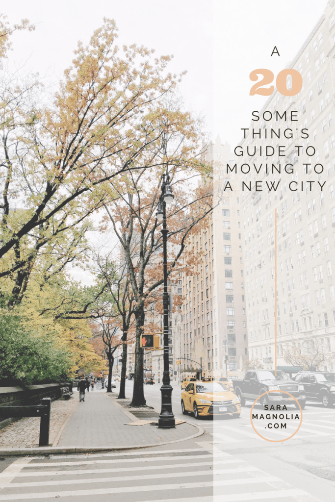 A Twenty Something's Guide to Moving to a New City