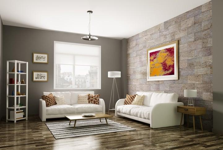 inspiration for living room how to arrange a with tv modern 3d rendering - sarana tile