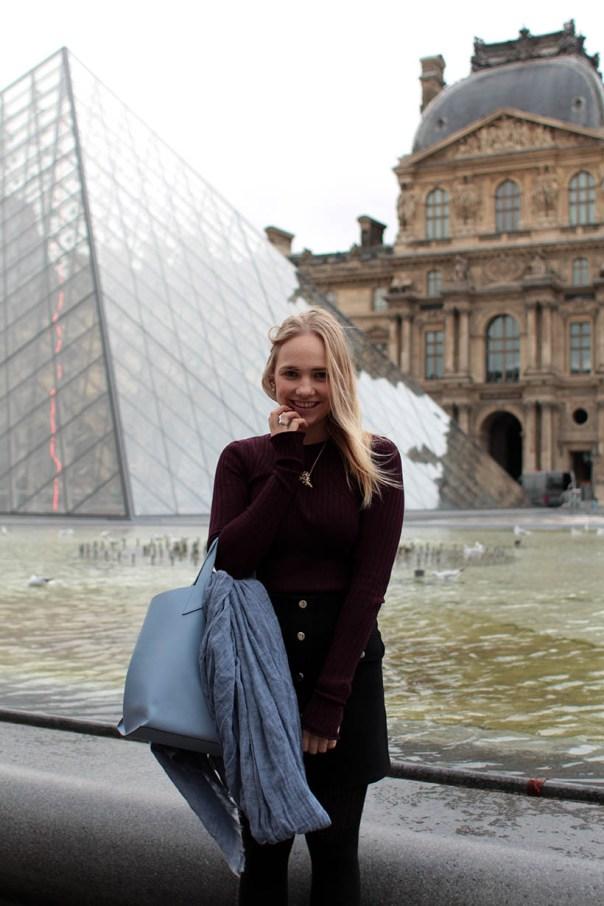 Louvre Outfit ootd fashion blogger SarandaAdriana paris dutch blog style zara imyf asos furla2