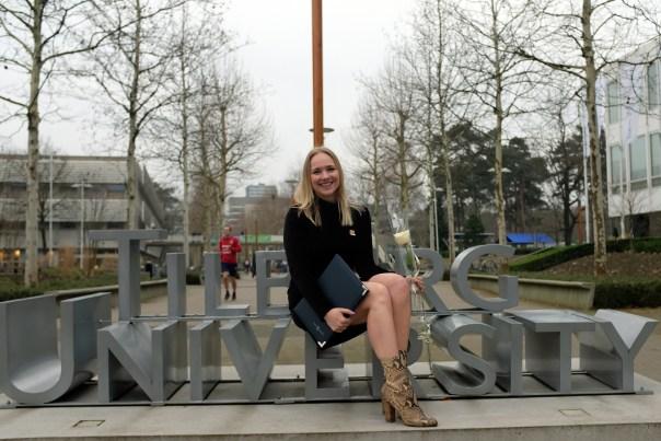 SarandaAdriana graduated Msc Business Communication and Digital Media Tilburg University
