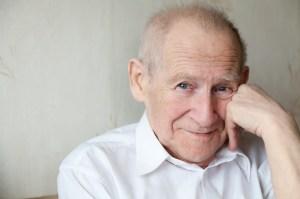 Elderly man treated by geriatric psychiatrist