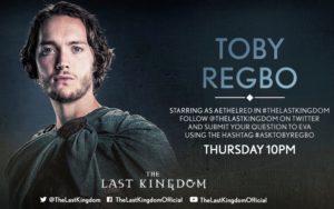 Toby Regbo (Aethelred) - #ASKTOBYREGBO