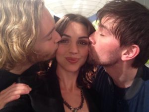"Toby Regbo Francis Bash Toby Regbo, Adelaide Kane e Torrance Coombs (""Reign"" - Francis, Mary e Bash)"