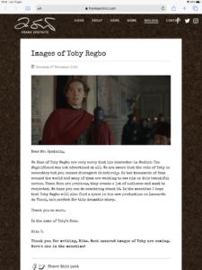 "Toby Regbo I MEDICI 3 Frank Spotnitz - Prima immagine ufficiale di Toby Regbo ne ""I Medici 3"""