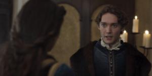"""""""I Medici 3"""" – Ep. 3 – Dialogo tra la moglie di Lorenzo e Peruzzi (Tommaso informa Clarice dei pettegolezzi sul marito)"""