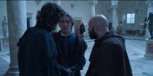 """""""I Medici 3"""" – Ep. 2 – Il Magnifico rientra a Firenze (Bernardi e Peruzzi lo informano del tradimento)"""