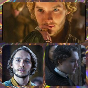 "Toby Regbo (Francis in ""Reign"" - Aethelred in ""The Last Kingdom"" - Tommaso ne ""I Medici"")"