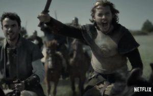 Toby Regbo: diretta Dream It. TLK 4 - Toby Regbo (Aethelred) e la co-star Jamie Blackley (Eardwulf)
