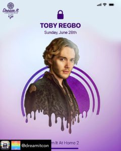 Toby Regbo: waiting DIAH2... Toby Regbo parteciperà a DIAH2 (Dream It - Instagram)