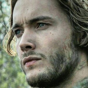 "Toby Regbo - Aethelred in ""The Last Kingdom"""