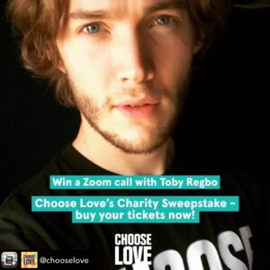 Toby Regbo: 2020 vs 2020. Toby Regbo - Choose Love (Mio Instagram 11 dicembre 2020)