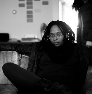 Jennifer Packer, photo by Albert Hosia Jerriod Avant