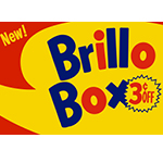 Brillo Box (3¢ off) cover (2017)