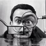 Willy Rizzo's portrait of Salvador Dali (1950)