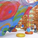 Toshiko Horiuchi MacAdam's Rainbow Net Playscape