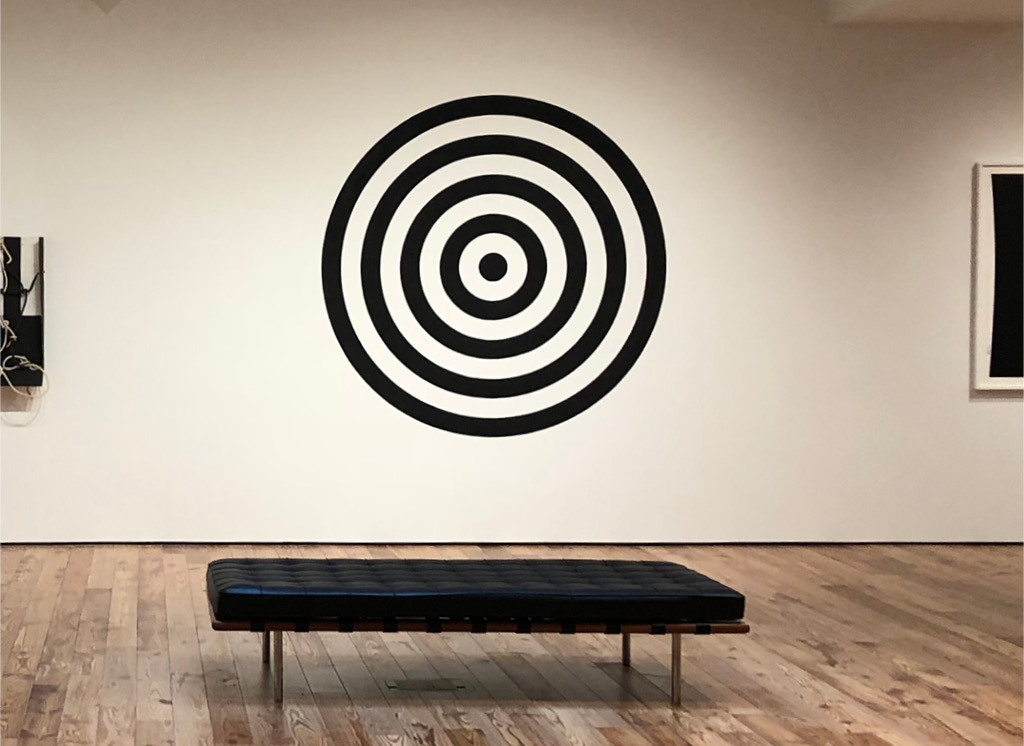 Dave Lewis's Target (2019) at the Sarasota Art Museum
