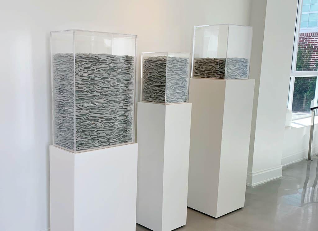 Jean Shin's Celadon Displays, (2015)
