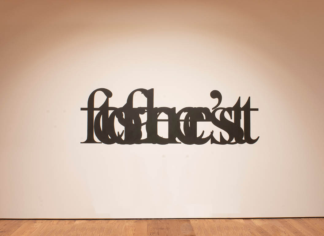 Luke Stettner's Can't see the forest for the trees(2009)