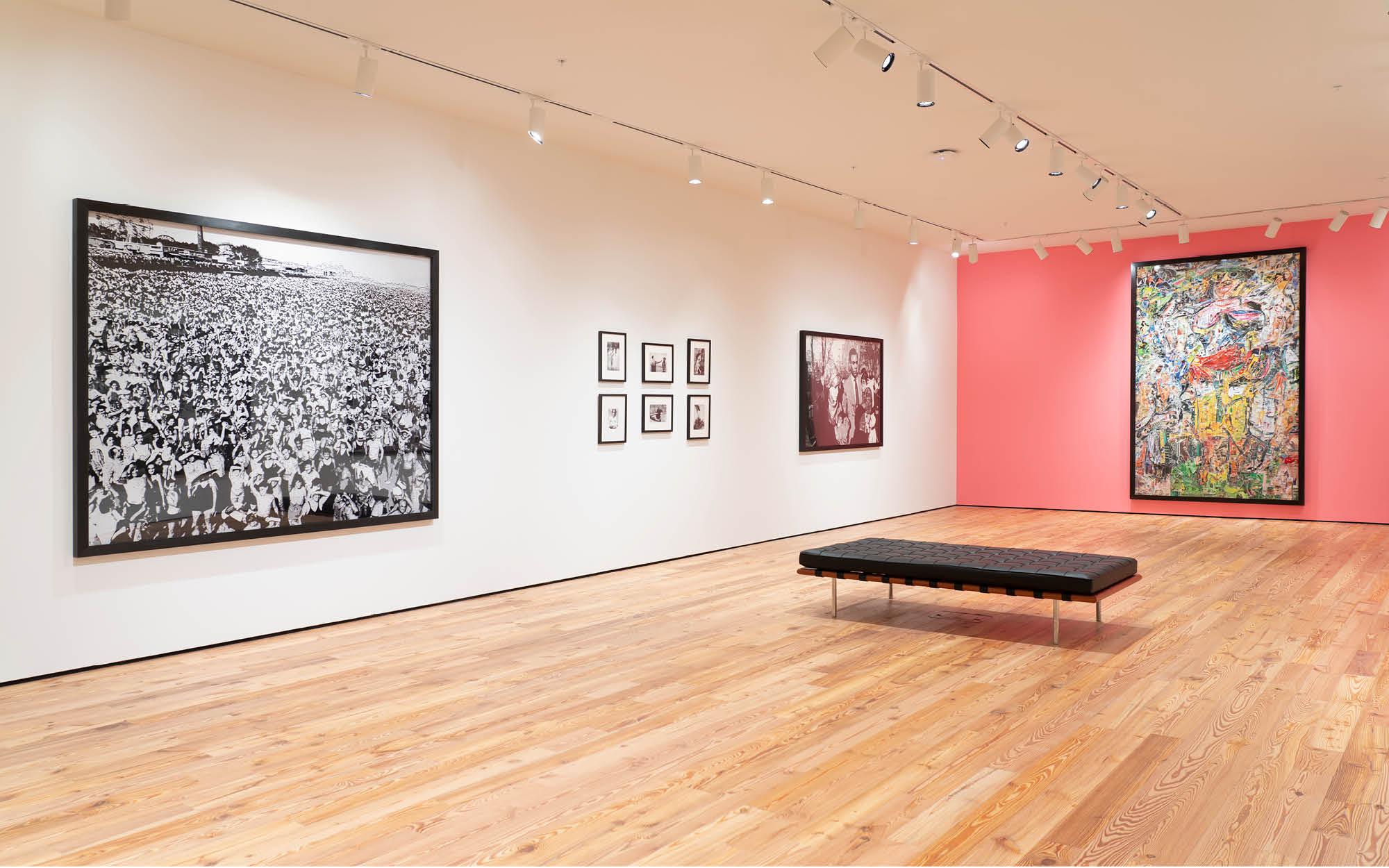 Vik Muniz exhibition, Richard and Barbara Basch Gallery, Sarasota Art Museum