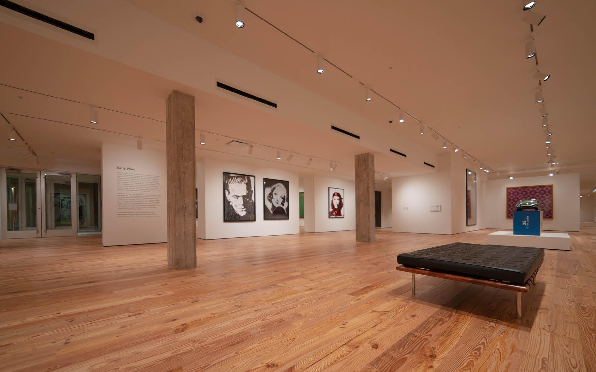 Vik Muniz exhibtion, Elaine And William W. Crouse Gallery