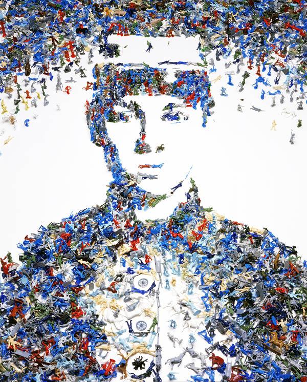 Vik Muniz, Toy Soldier (2003)