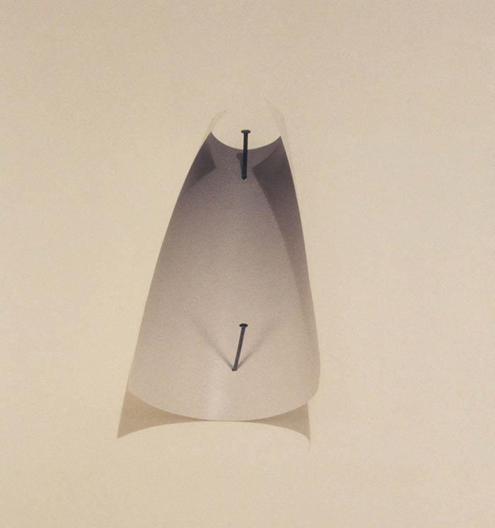 Vik Muniz, Two Nails, (1987)