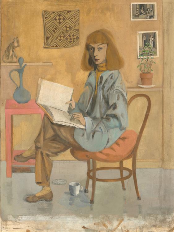 Elaine de Kooning, Self-Portrait (1946), Source: National Portrait Gallery, Smithsonian Institution