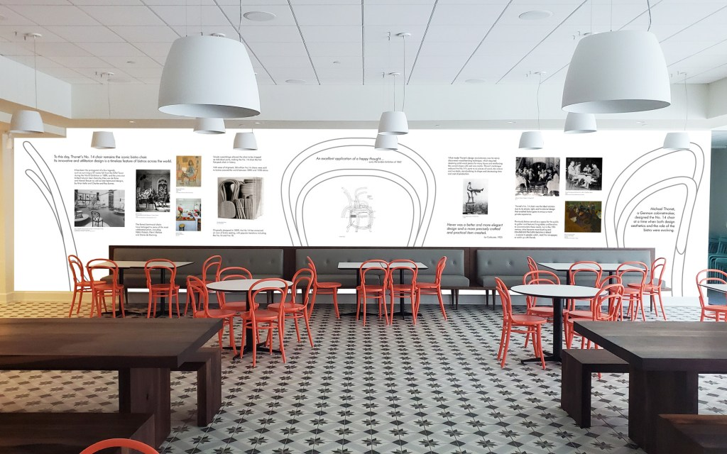 Bistro Thonet Exhibit
