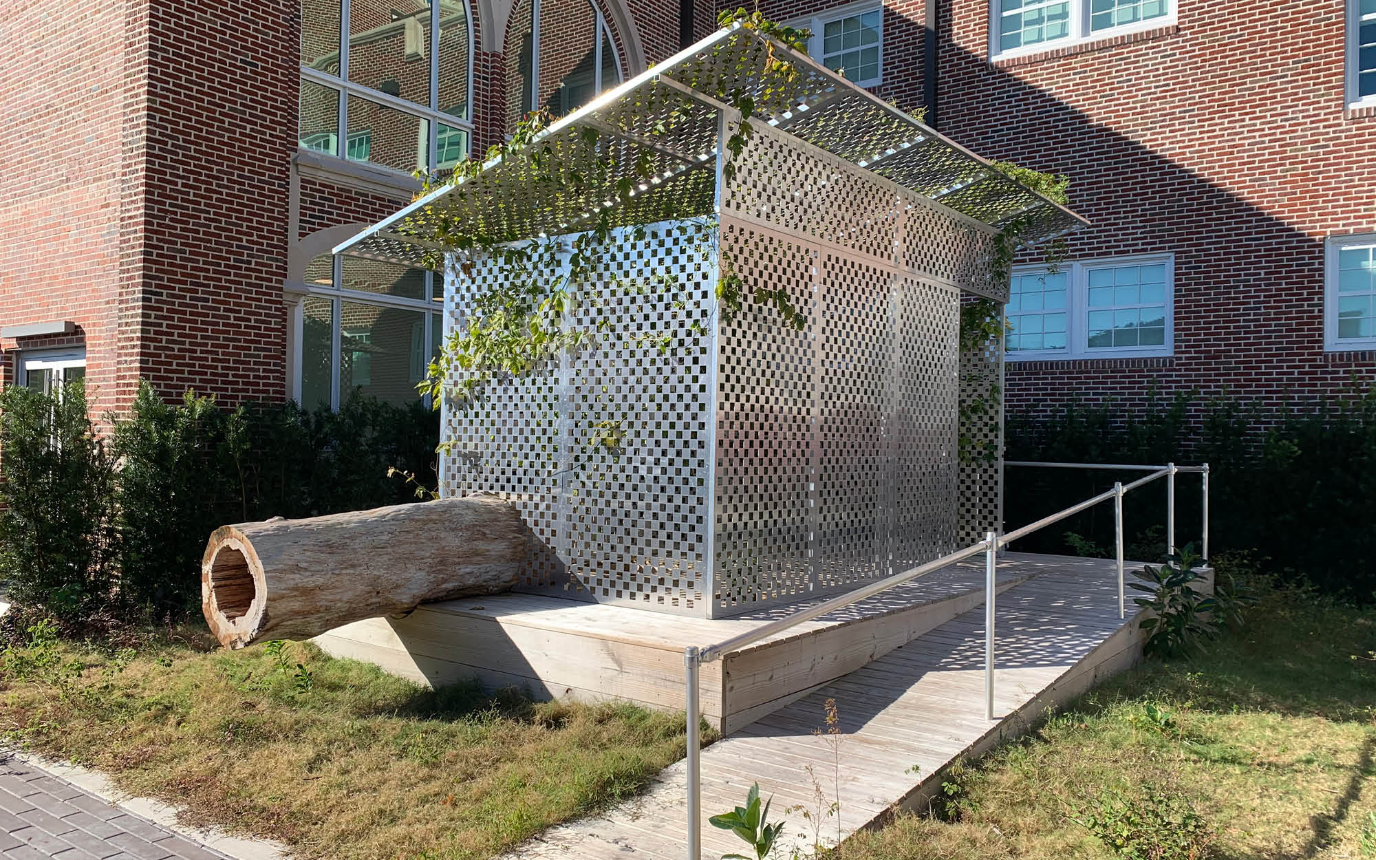 JPW3's Zen Jail is a site specific art installation at Sarasota Art Museum