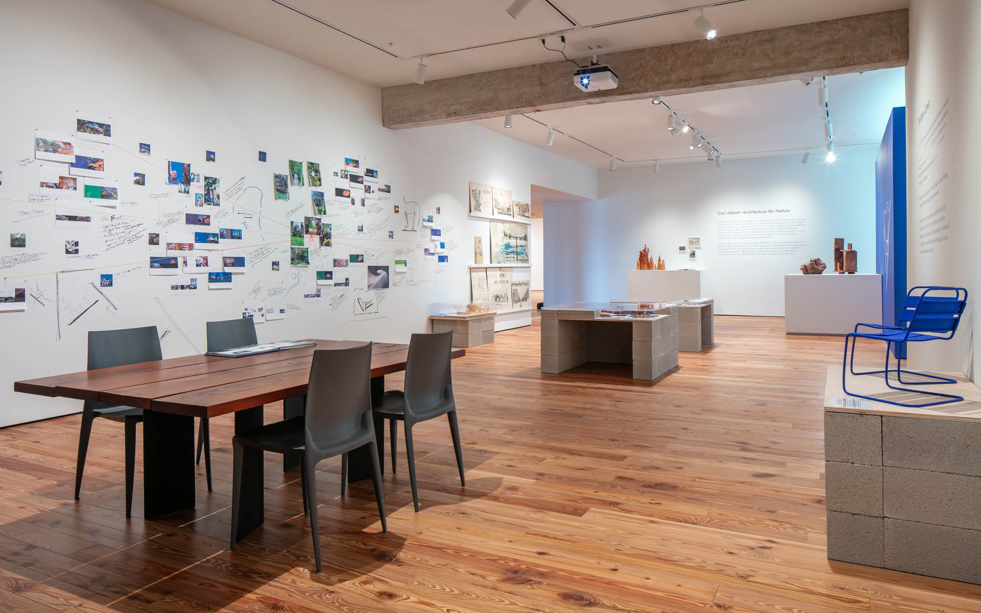 Carl Abbott: Architecture for Nature, Sarasota Art Museum of Ringling College, November 8, 2020 - May 2, 2021 (installation view). Courtesy of the artist. Photo: Ryan Gamma.