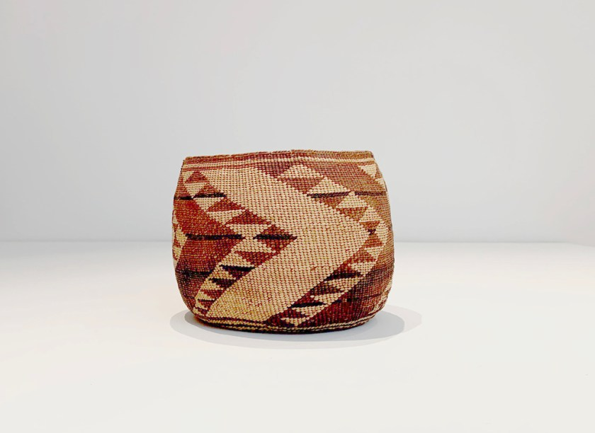 Baskets, c. 1880s-1940s, Raffia, spruce root, devil's claw, and other natural fibers, Dimensions variable, Collection of Mary Ann and John Meyer