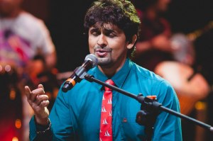 sonu nigam stuck with allergy