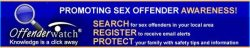 Sex Offender Registry Notification Signup