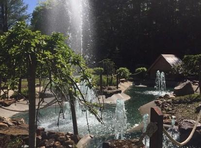 Mini Golf Fountains