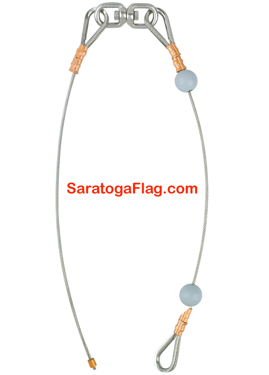 CABLE ASSEMBLIES- Flagpole Hardware
