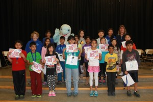 4th grade Spelling Bee - Group Photo