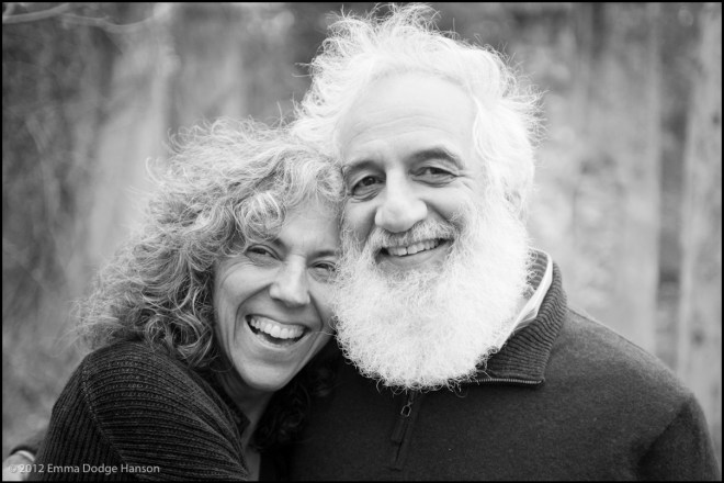 Rabbi Linda Motzkin & Rabbi Jonathan Rubenstein (Photo by Emma Dodge Hanson)