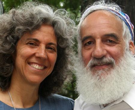 Rabbis Linda & Jonathan - photo courtesy Linda Maney
