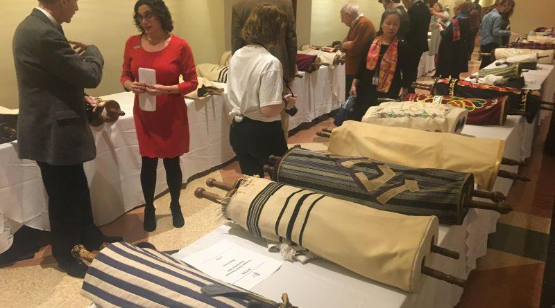 Gathering of the Holocaust Memorial Torah Scrolls – NYC