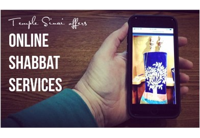 Online EARLY Shabbat Candle Lighting and Services with LOGIN information